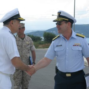 13 may 2011 Visit of Operational Deputy Commander of US Coast Guard
