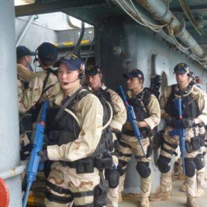 17 Apr 13 Training of USS MAHAN