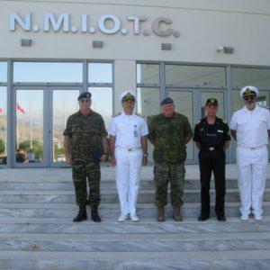 26 Jul 11 Visit of DCOM JFC NAPLES-COM OUP & COM MCC NAPLES-MARCOM OUP