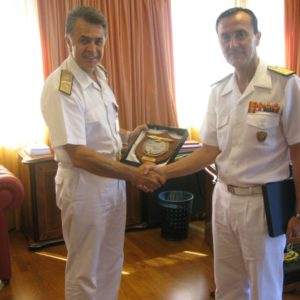 27 June 2010 Visit of Deputy Commander HQ MC NAPLES