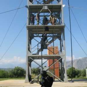 Course 3000- Fast Rope by Morrocan Trainee