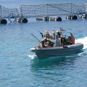 RHIB Insertion