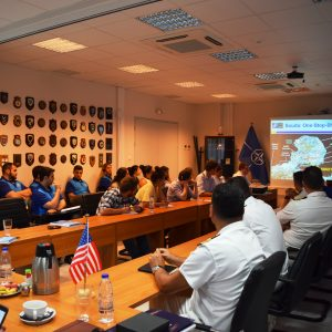 VISIT OF AMERICAN HELLENIC INSTITUTE FOUNDATION (AHIF)